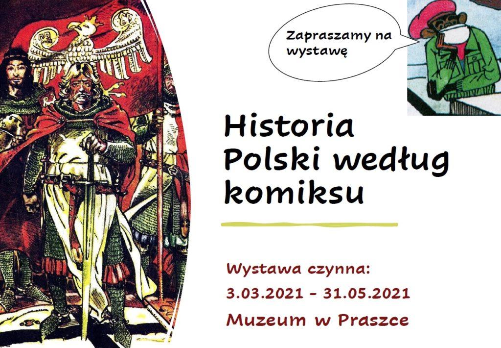 """Wystawa czasowa """"Historia Polski według komiksu"""""""