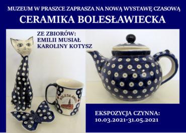 """Nowa wystawa """"Ceramika bolesławiecka"""""""